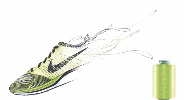 Szálak, rostok. (fotó: Nike/Accenture)