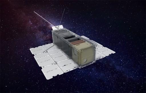 A RADCUBE mikroműhold fantáziaképe (radcube.hu)