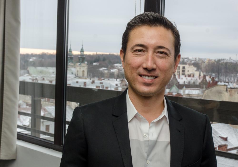 Andy Tryba, a Crossover alapítója és vezérigazgatója
