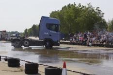 bemutató, kamion, Knorr-Bremse, önvezető autó