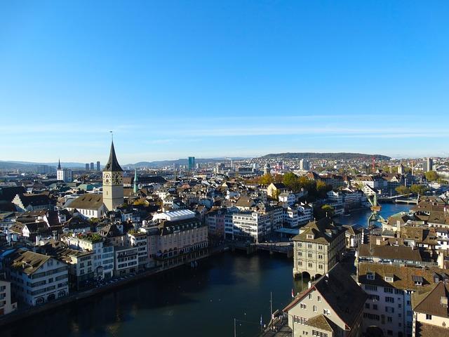 Zürich: a legdrágább a világon pixabay.com