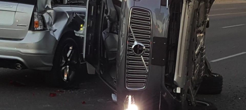 Az Uber önjáró balesete