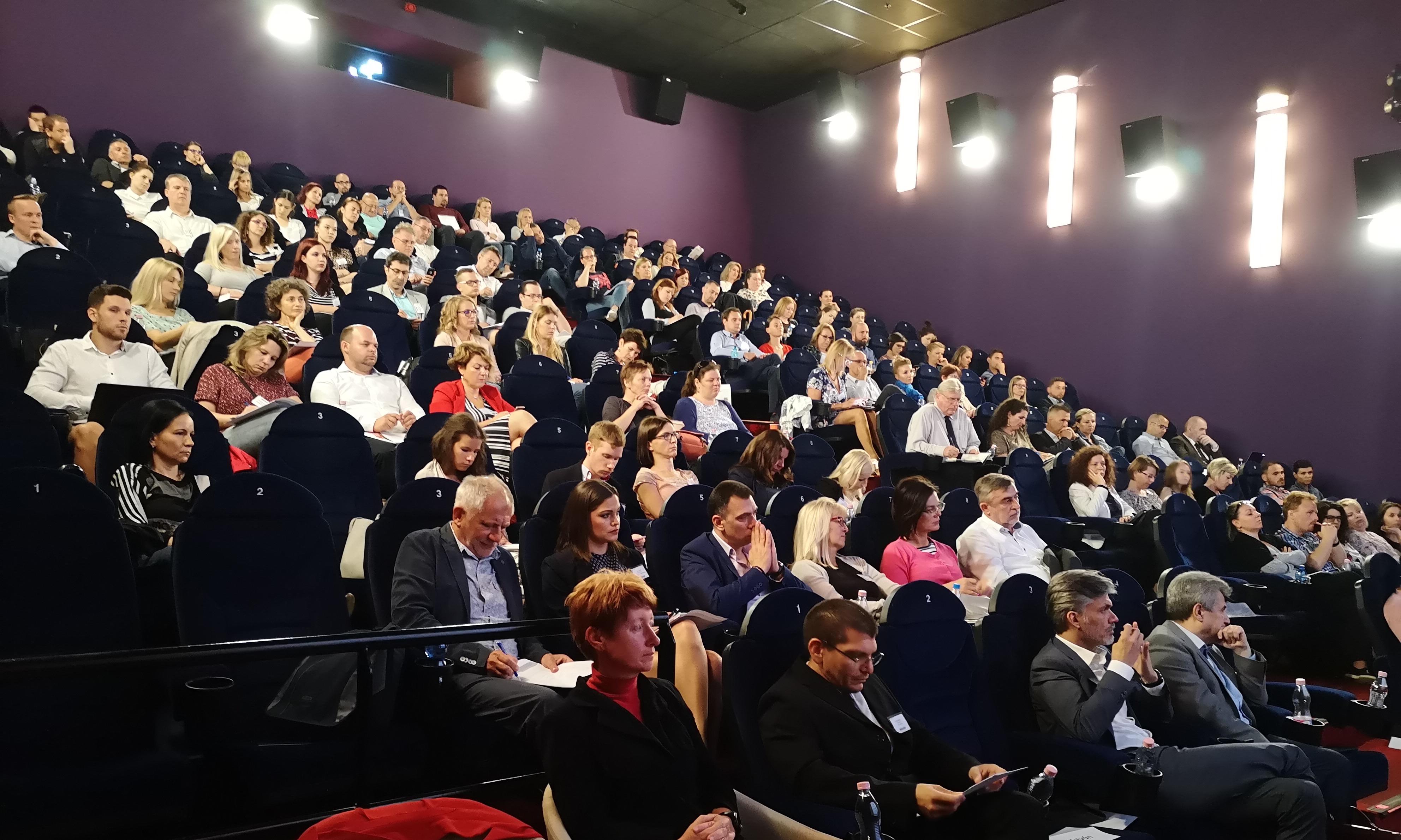 A Piac & Profit Cégmarketing 2018 konferenciájának közönsége (Fotó: PP)
