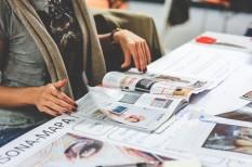 grafika, marketing, nyomtatványok, vizuális marketing