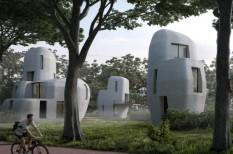 3d nyomtatás, acél, balesetveszély, beton, cement, építészet, ingatlan, lakóház, négyzetméterár, nyomtató