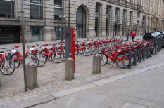 bérbringák, dugó, forgalom, kerékpárkölcsönzés