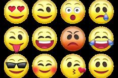 emoji, hangulat, ikonok, kifejezés, üzlet