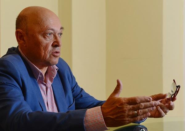 """Rudas László: """"Magyarországon a cégtulajdonosi és a menedzseri munkakör nem igazán vált el: jellemzően azok szeretnék igazgatni a céget, akik alapították"""" - Kép: PP, Fotó: Bánkuti András"""
