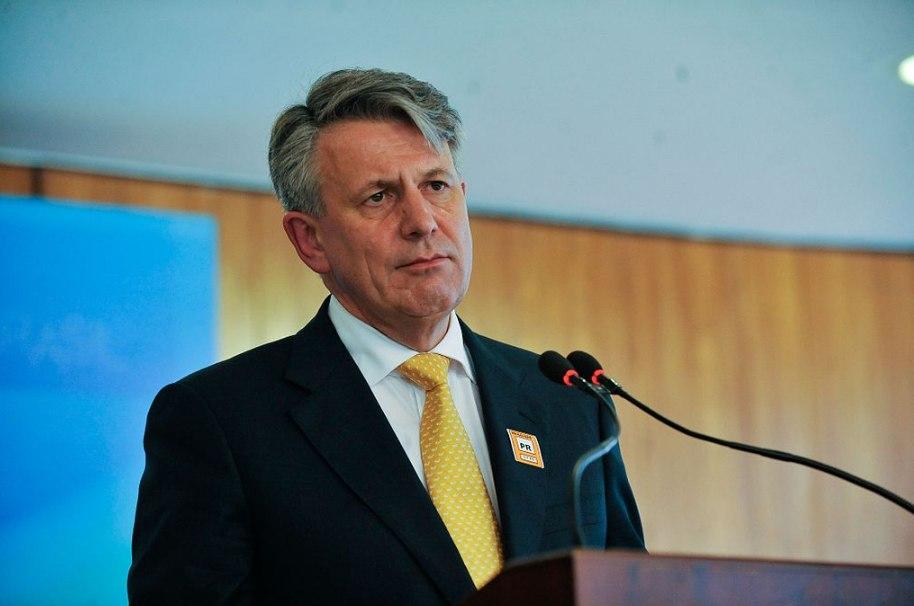 Ben van Beurden, a Royal Dutch Shell vezérigazgatója. (Fotó: José Cruz/Agencia Camara/wikipedia)