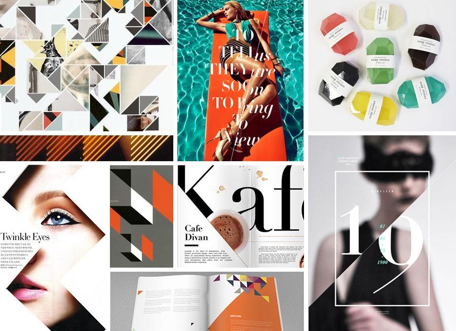 Egy jó moodboardon feltűnnek a betűtípusok a színekés a képi elemek is. Forrás: Idea Fontána