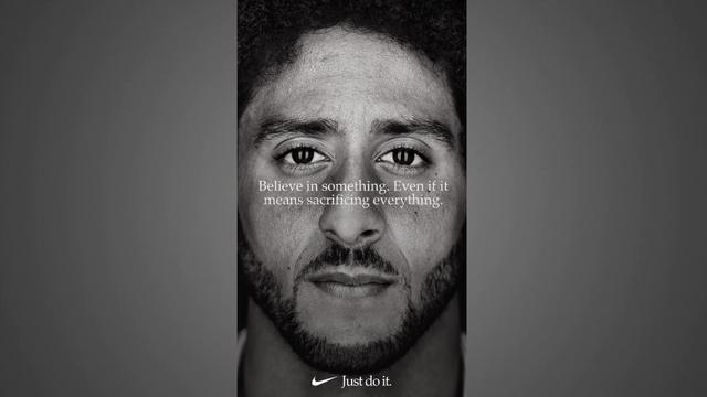 A szóban forgó reklám (Forrás: Nike)