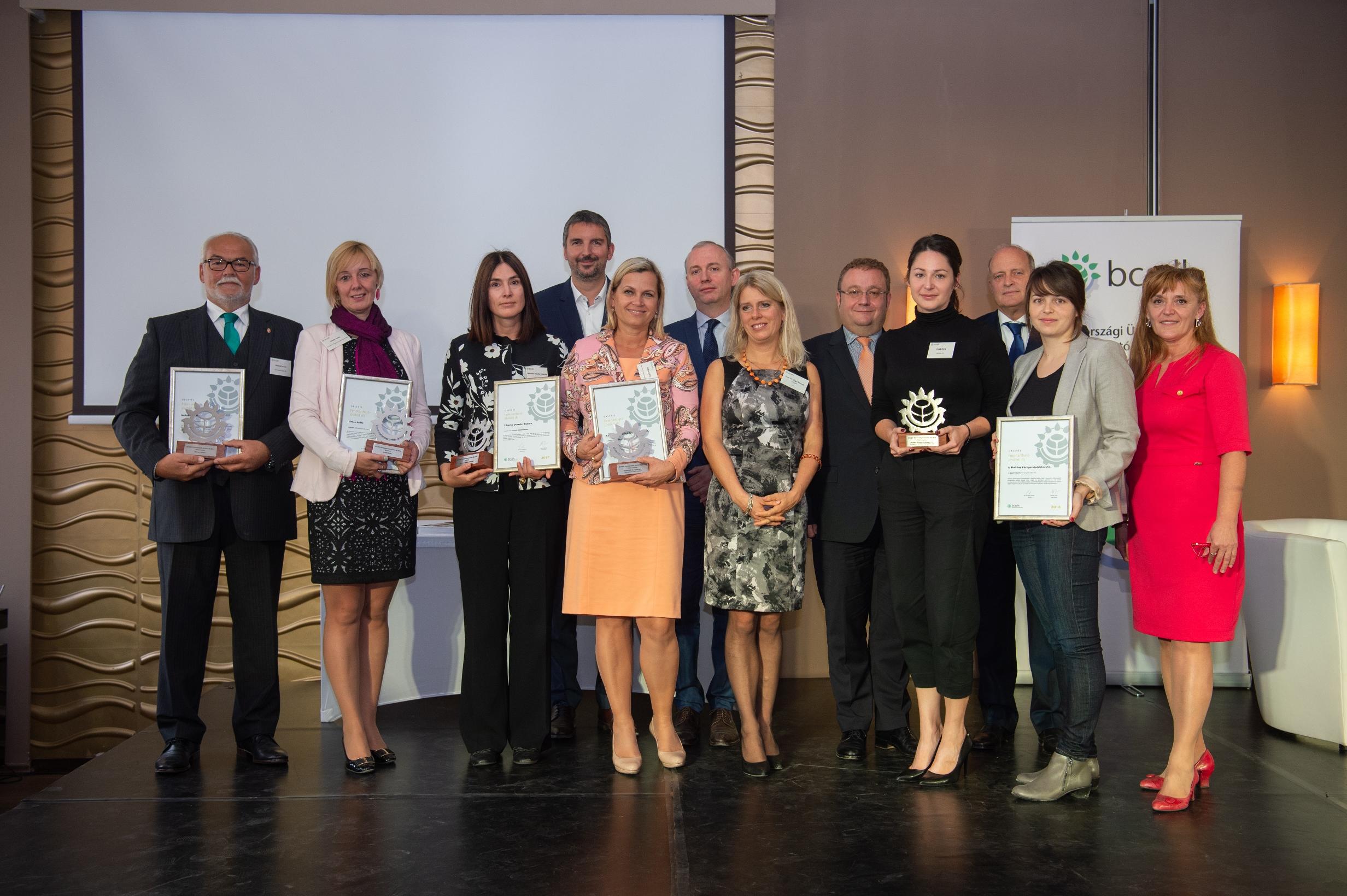 A 2018-as díjazottak (Fotó: BCSDH)