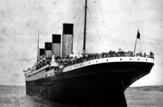 hajó, kate winslet, közlekedés, leonardo dicaprio, mentőcsónak, titanic, tragédia