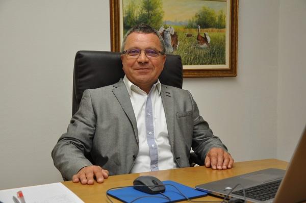 Balázs Attila, a társaság vezérigazgatója