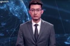 hírolvasó, kína, mesterséges intelligencia, robot