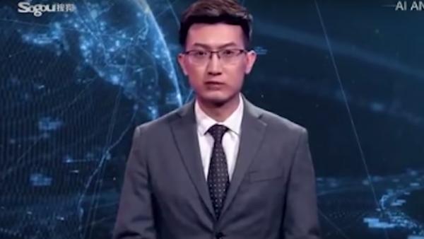 kínai hírolvasó