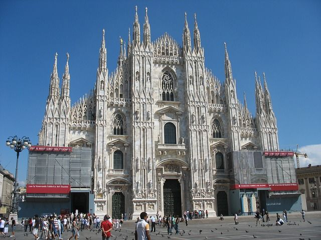 Milánói Dóm Kép: Pixabay