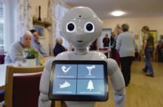 ápolás, kapcsolat, robot, segítség