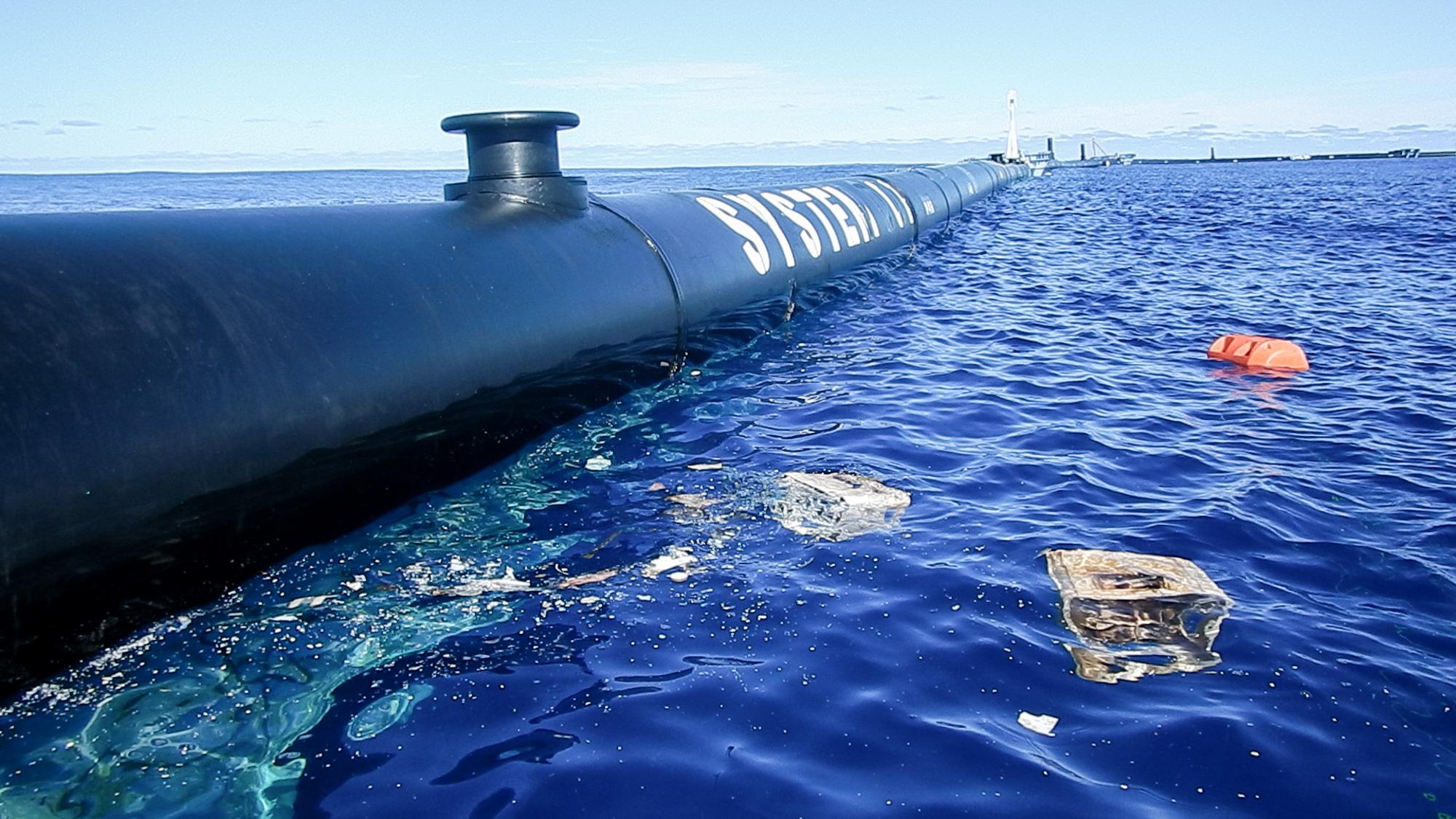 Fotó: Ocean Cleanup