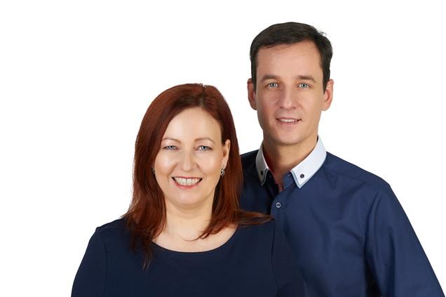 dr. Teker Orsolya és Lévai Richárd - Kép: RG Stúdió