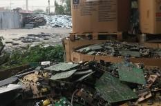e-hulladék, hulladékkezelés, környezetvédelem