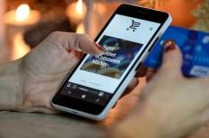 adat, asztali gép, bankolás, félelem, mobil, online