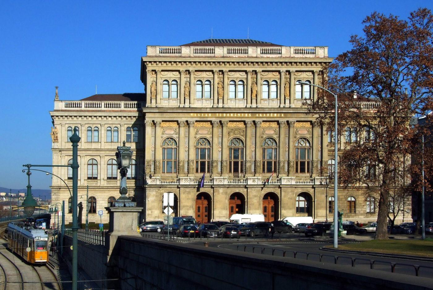 A Magyar Tudományos Akadémia épülete - Kép: MTI