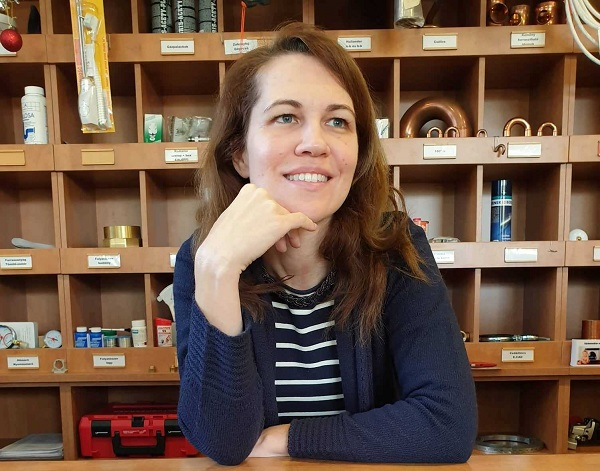 Bálint Andrea: eleinte nem volt könnyű beleszoknom a hazai üzleti életbe - Kép: Archív