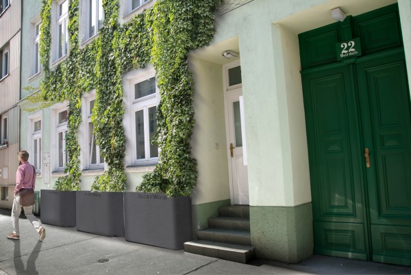 Kizöldített utcakép © Grün statt Grau