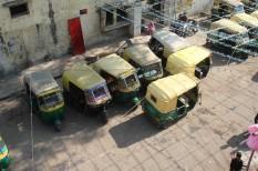 e-riksa, india, klíma, környezet, villanyautó