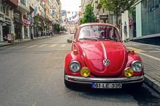 autó, bogárhátú, elektromos, oldtimer, tesla, volkswagen