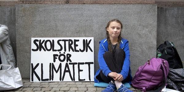 Greta Thunberg - Kép: Wikimedia