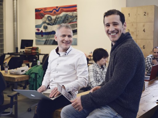 Az alapítók: Benedek Balázs és Faragó Péter