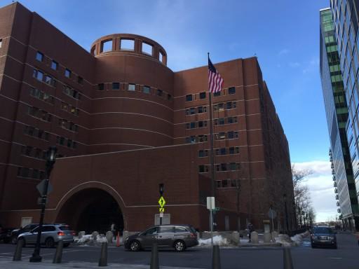 A bíróság épülete Bostonban