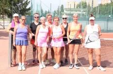 társasági torna, tenisz