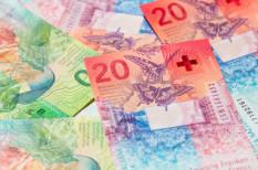 érték, forgalom, svájci frank
