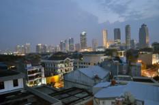 Dzsakarta, főváros, indonézia, süllyedés