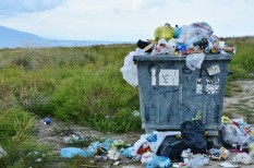 illegális hulladék, német export