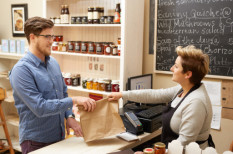 ajándék, kedvezmény, marketing, vásárlás
