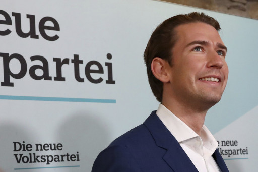 Sebastian Kurz MTI/AP/Matthias Schrader