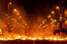 Barcelona, katalán válság, spanyolország, tüntetés
