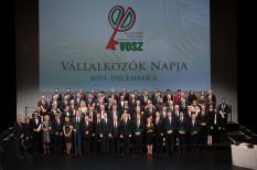 Átadták a Magyar Gazdaságért díjakat