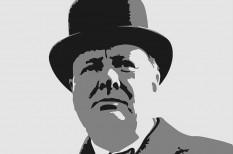 Valaki egy kisebb vagyont fizetett Winston Churchill festményéért
